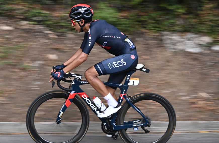Egan Bernal. ciclista colombiano.