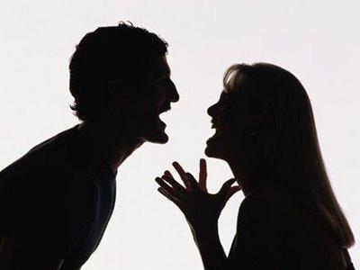 Discusión de pareja // Foto: AFP - Referencia