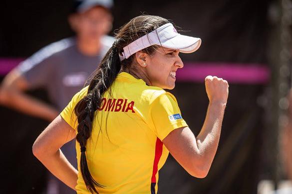 María Camila Osorio quedó eliminada en primera ronda del tenis de los Juegos Olímpicos.