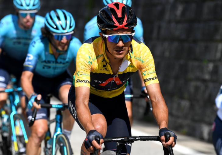Richard Carapaz se mantuvo líder de la Vuelta a Suiza tras la etapa 6.