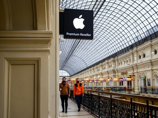 Multa a Apple en Rusia