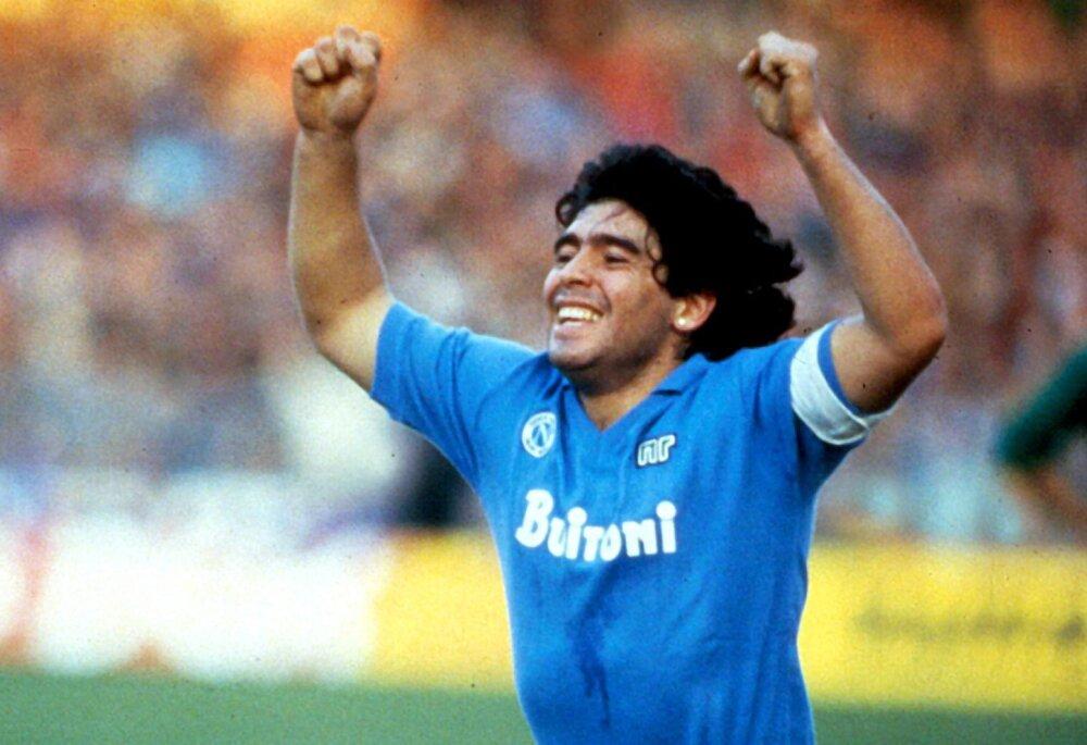 Diego Maradona Nápoles