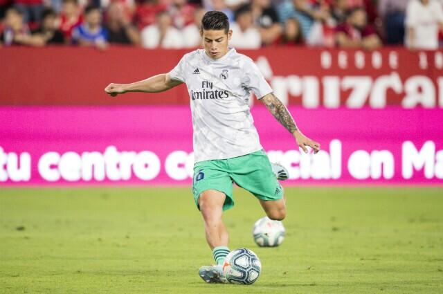 James Rodríguez jugador de Real Madrid