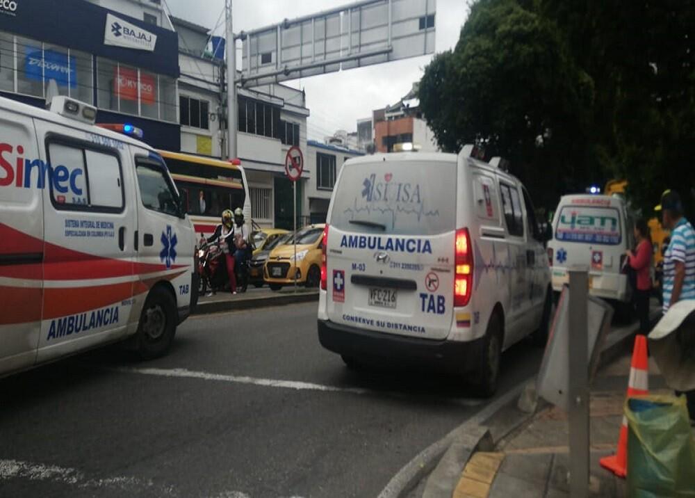 350960_BLU Radio. Imagen de referencia ambulancias en Bucaramanga / Foto: suministrada