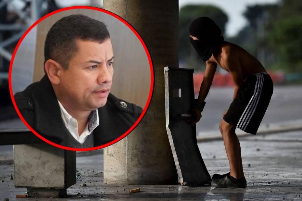Rafael Guarín lanza graves acusaciones contra jóvenes de Primera Línea