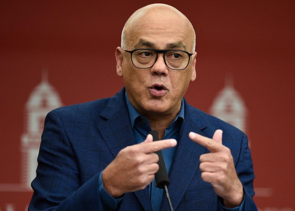 339771_BLU Radio. Jorge Rodríguez, Ministro de Información de Venezuela // Foto: AFP
