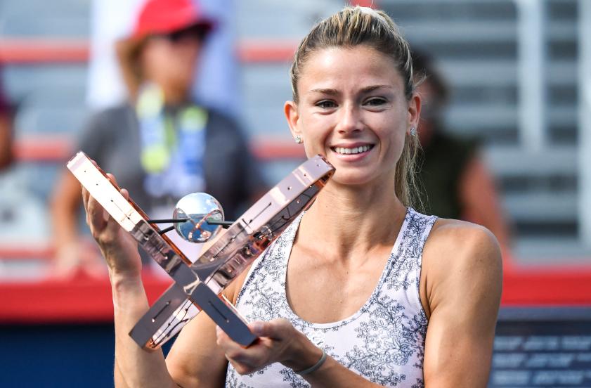 Camila Giorgi ganó el WTA 1.000 de Montreal.