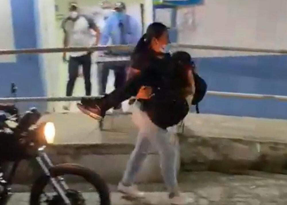 heridos durante enfrentamientos en Yumbo valle.jpg