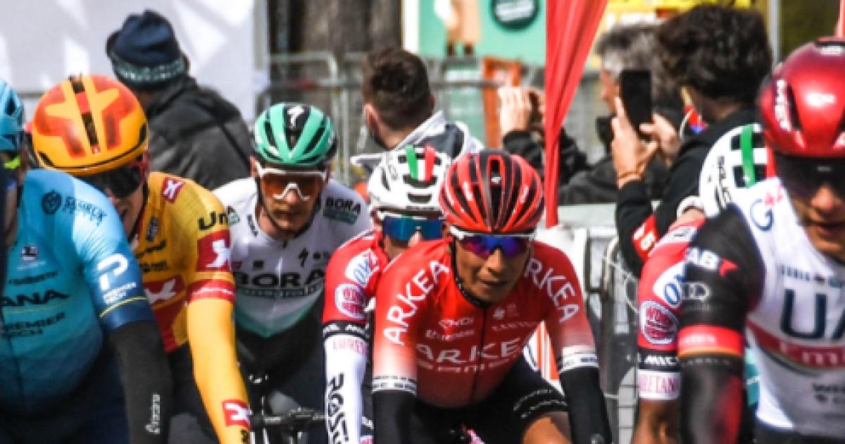 Tour de los Alpes 2021: Nairo Quintana e Iván Sosa siguen en la pelea por el podio tras la etapa 2