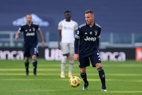Arthur Melo, jugador de Juventus