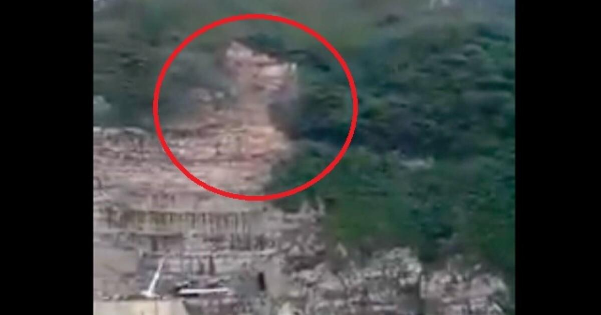 Nuevo derrumbe en Hidroituango en el sector de captación de la presa