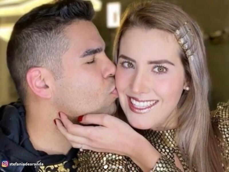 Emir Pabón y Stefanía de Aranda y su accidente en Estados Unidos