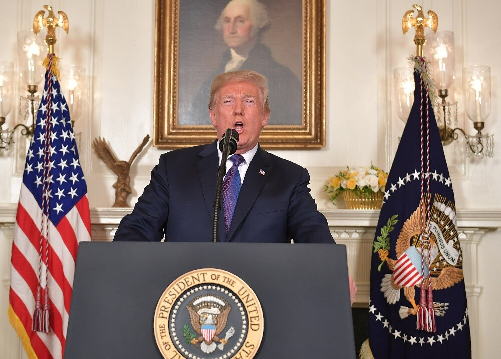 304211_BLU Radio. Donald Trump / Foto: AFP.