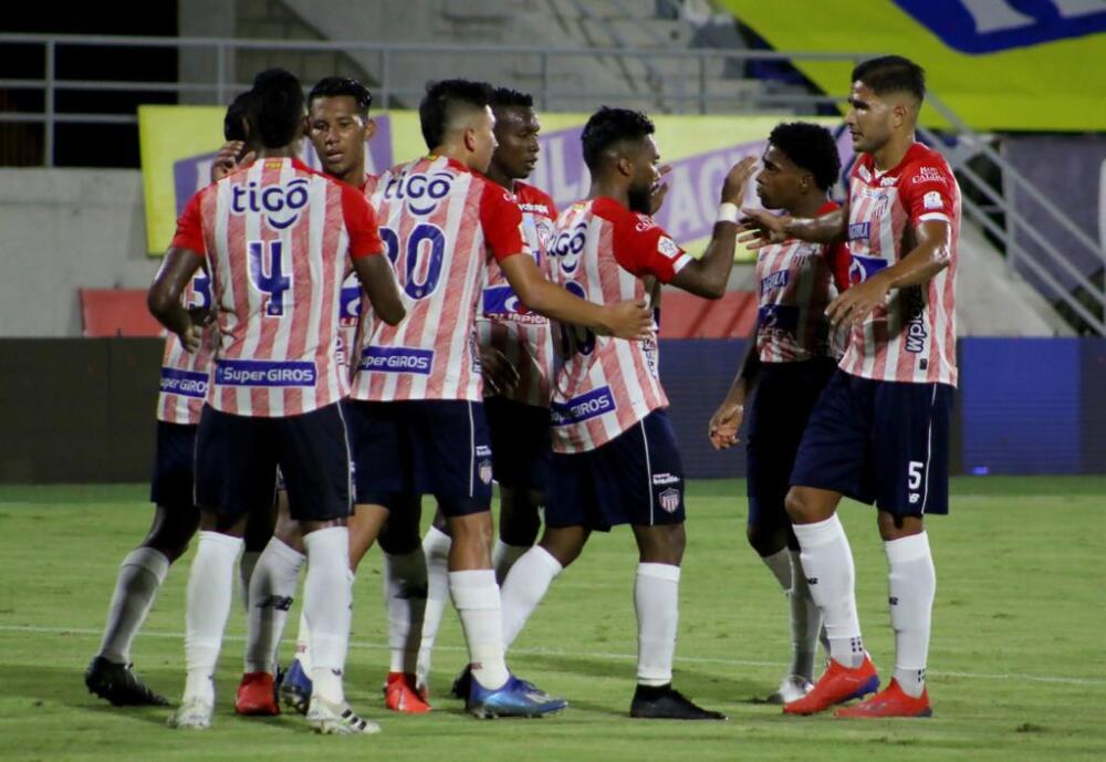 Junior celebra vs Rionegro