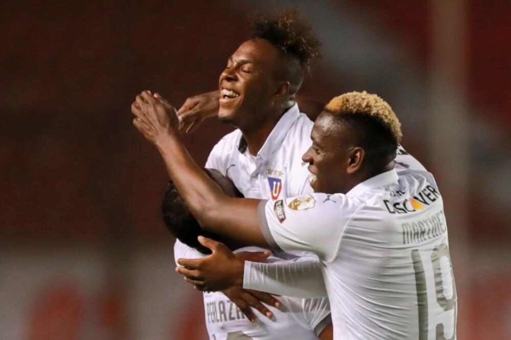 Liga de Quito celebra 220920 AFP E.jpg
