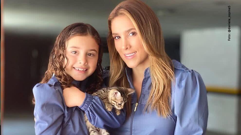 371504_Salomé junto a su mamá Daniela Ospina. Foto: Instagram