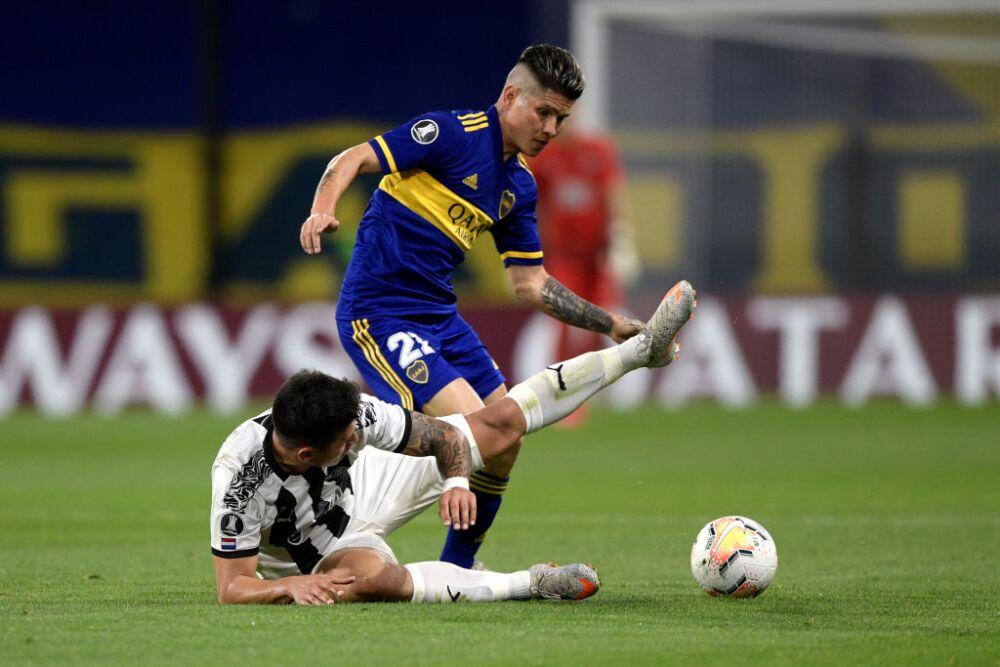 Jorman Campuzano, Boca Juniors vs. Libertad