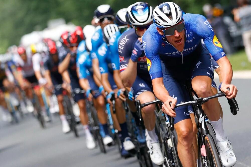 Tour de Francia ciclistas AFP.
