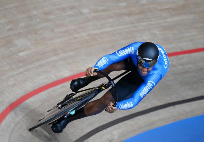 Kevin Quintero no pasó de la ronda de dieciseisavos de final de la velocidad en los Juegos Olímpicos Tokio 2020.