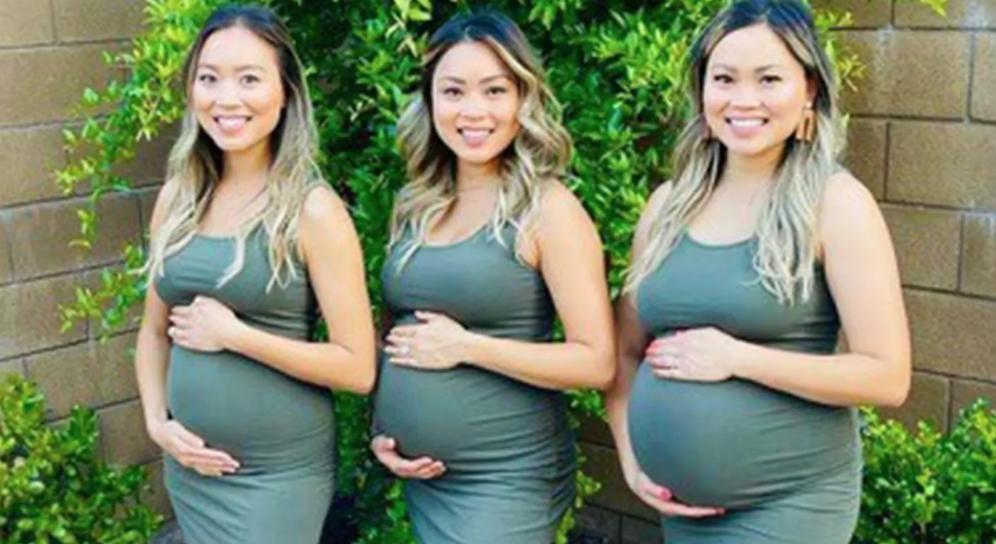 Trillizas embarazadas