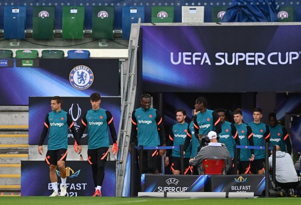 Chelsea en Supercopa de Europa.