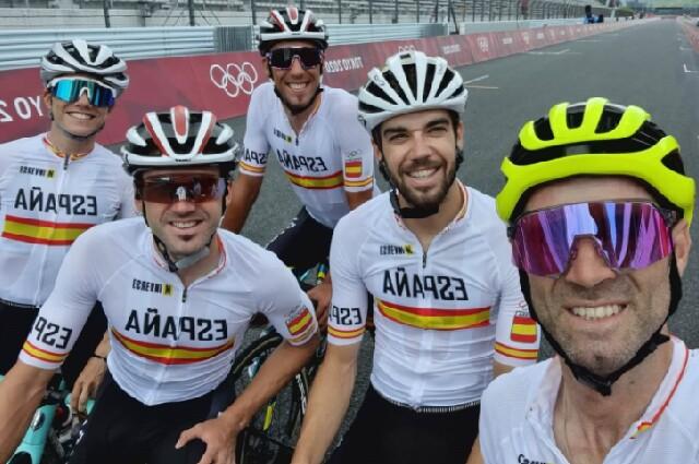 Equipo español de ciclismo para los Juegos Olímpicos