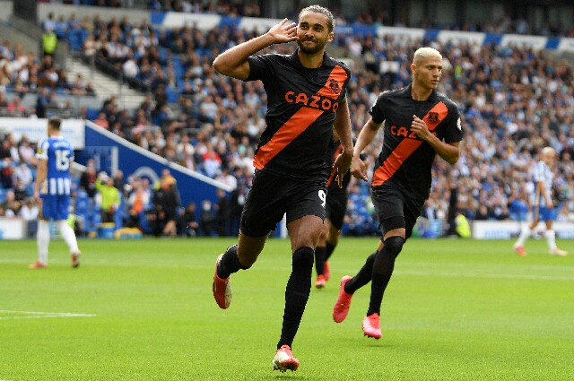 Everton contra Brighton, en Premier League