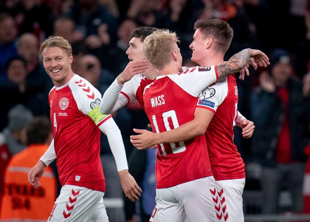 Dinamarca venció a Austria y clasificó a Catar Foto AFP.jpg