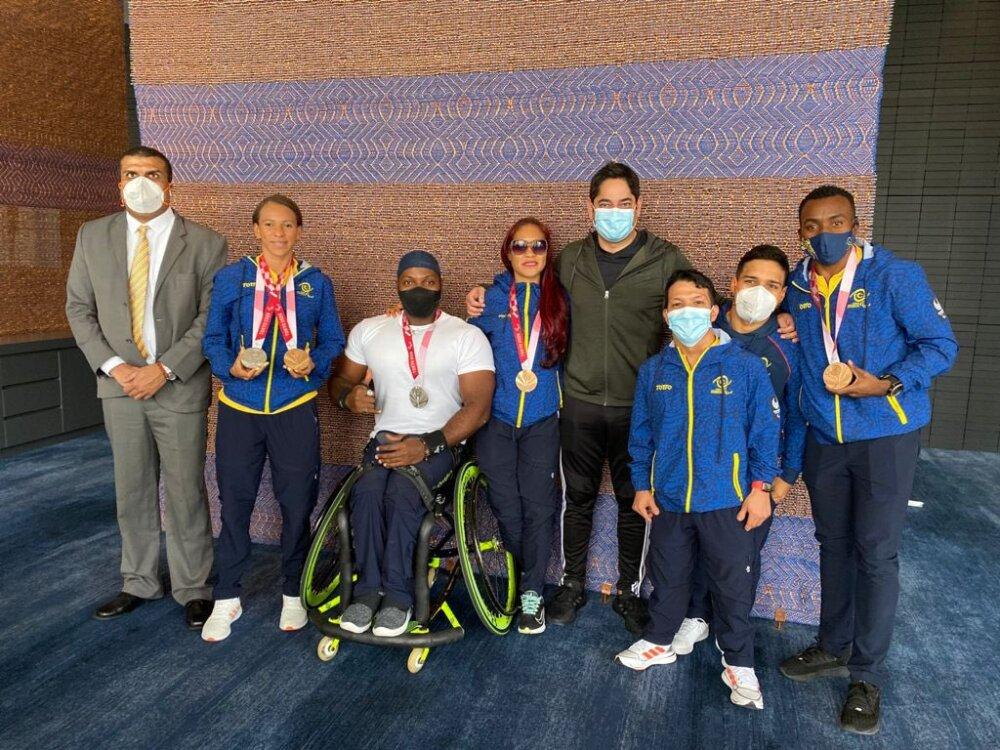 Medallistas colombianos en los Juegos Paralímpicos de Tokio 2020