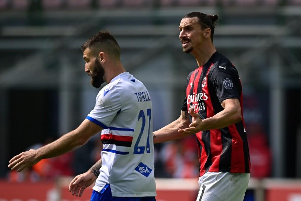 Zlatan Ibrahimovic Milan Sampdoria 030421 Getty Images E.jpg