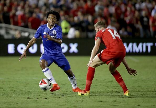 Cuadrado en Chelsea acción de juego