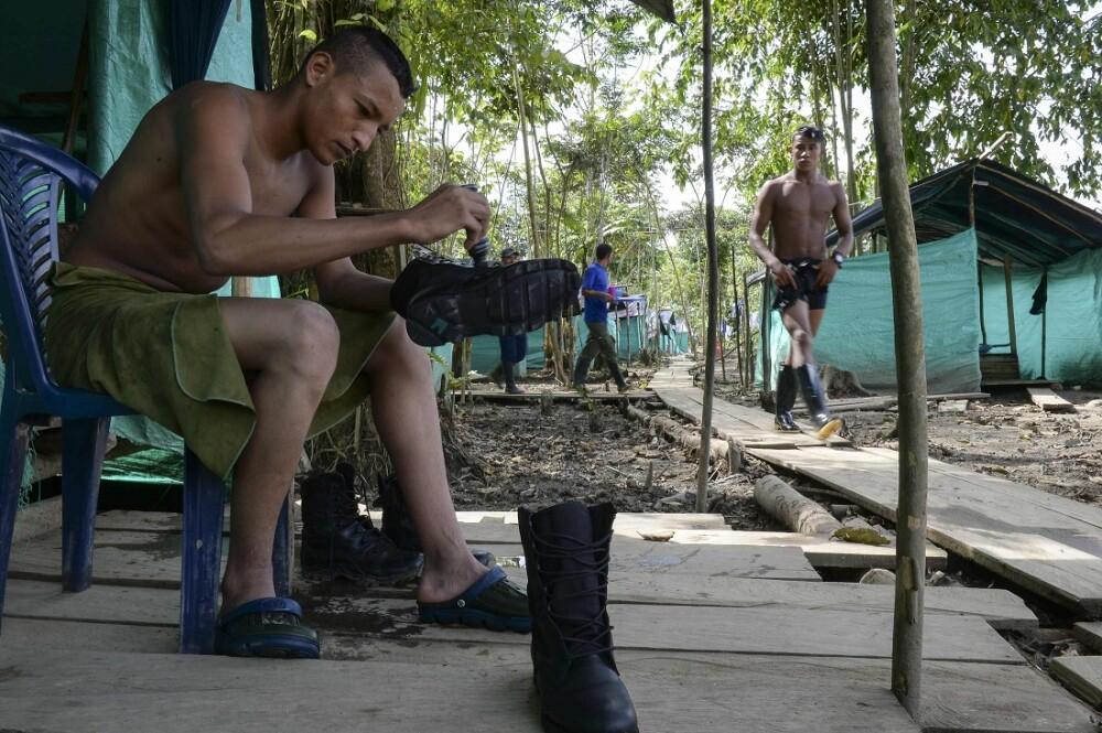 276128_BLU Radio Zona veredal / Foto de referencia: Zonas veredales AFP