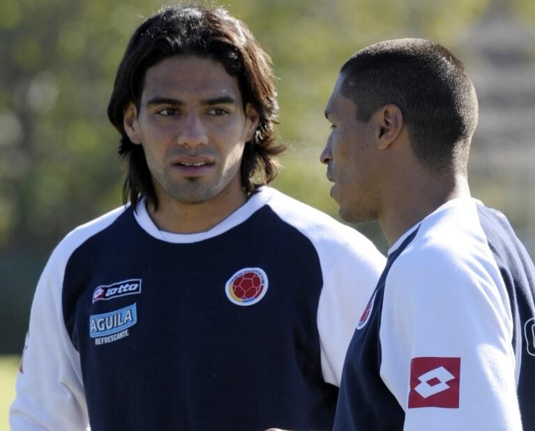 Falcao García e Iván Ramiro Córdoba, Selección Colombia