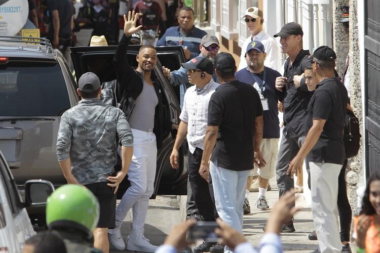 Denuncian que parte de los $100 millones que dejó película de Will Smith en Cartagena no aparecen