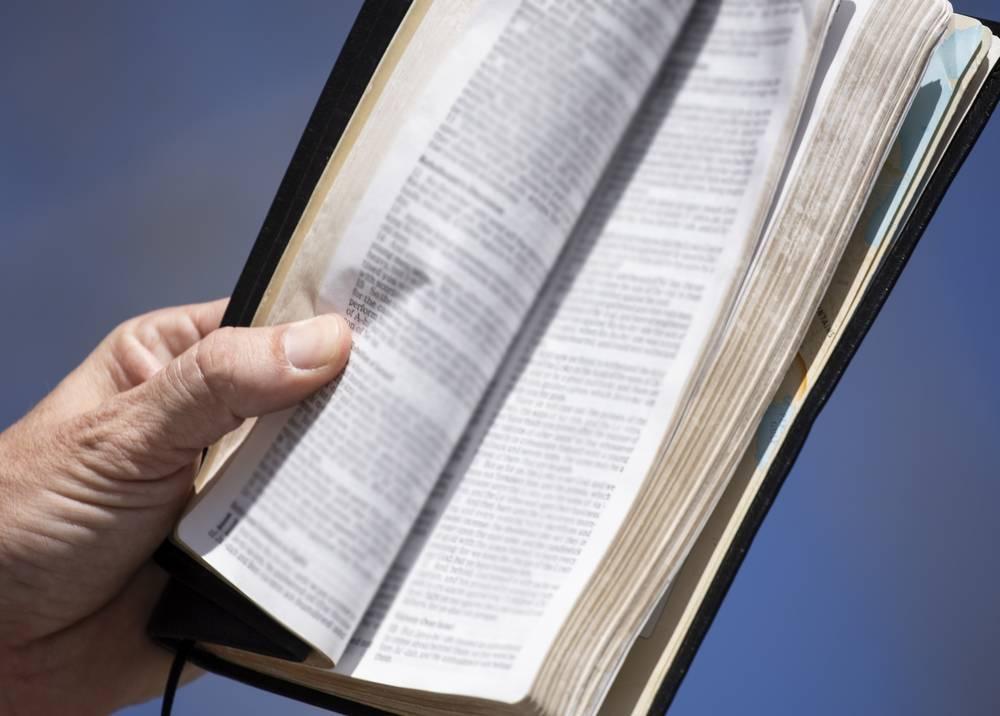 360250_Biblia // Foto: AFP, imagen de referencia