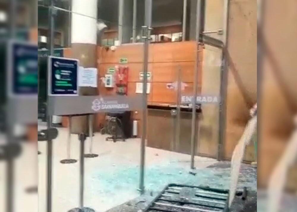 Alcaldía de Barranquilla vandalizada
