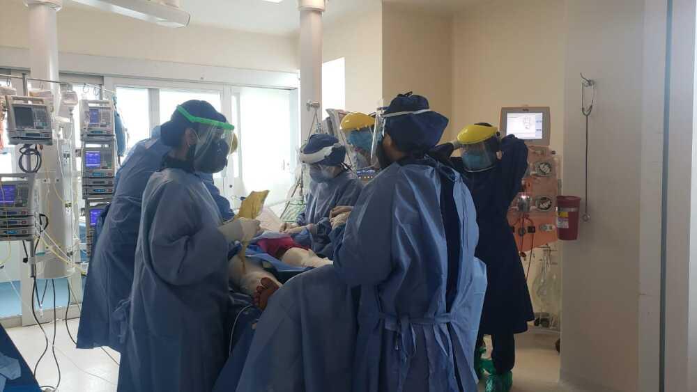 371886_BLU Radio // Trasplante de aloinjertos de piel a herido de Tasajera // Foto: cortesía