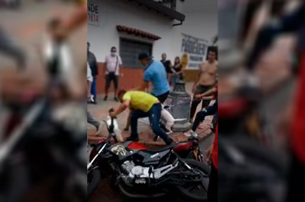 Presuntos ladrones Bucaramanga