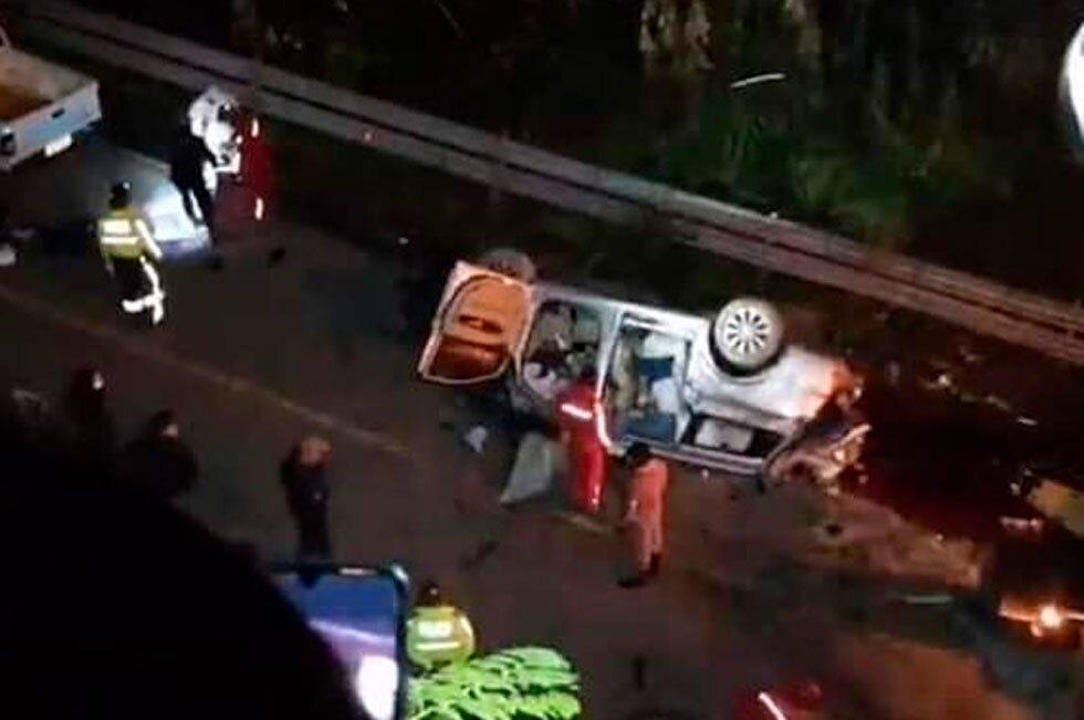 Accidente Ecuador