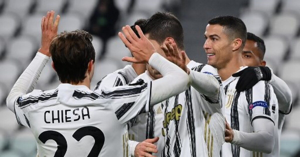 Juventus, sin Juan Guillermo Cuadrado, fue contundente y goleó 3-0 al Dinamo Kiev, en la Champions