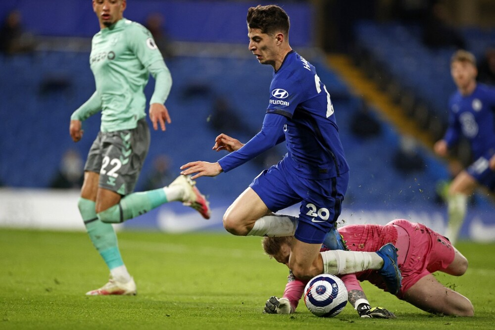 Chelsea - Everton. Foto: AFP
