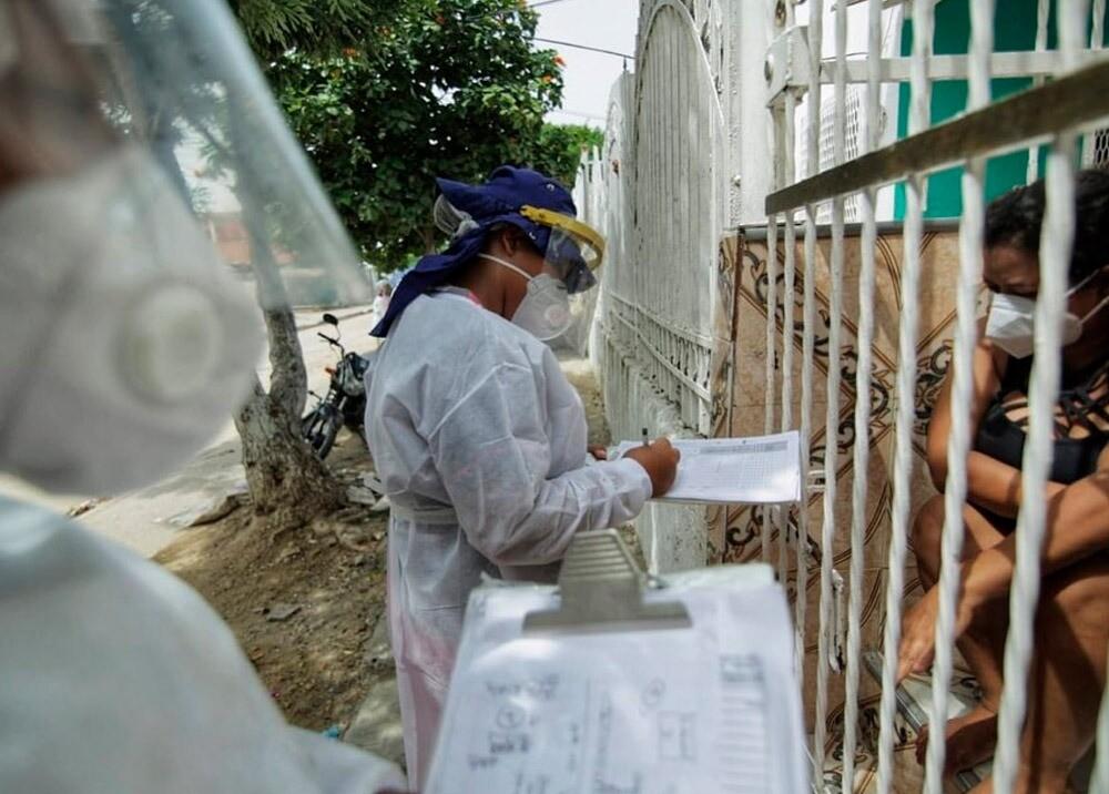 372064_Controles durante la pandemia en Cartagena // Foto: Facebook Alcaldía Cartagena
