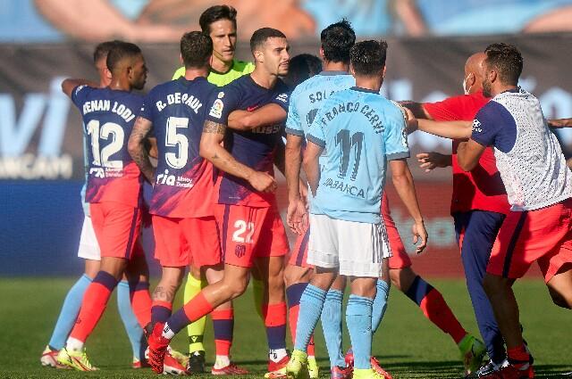 Celta de Vigo vs. Atlético de Madrid, en la fecha 1 de La Liga 2021/22