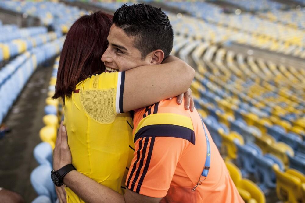 Colombia Mundial 2014 Familiares