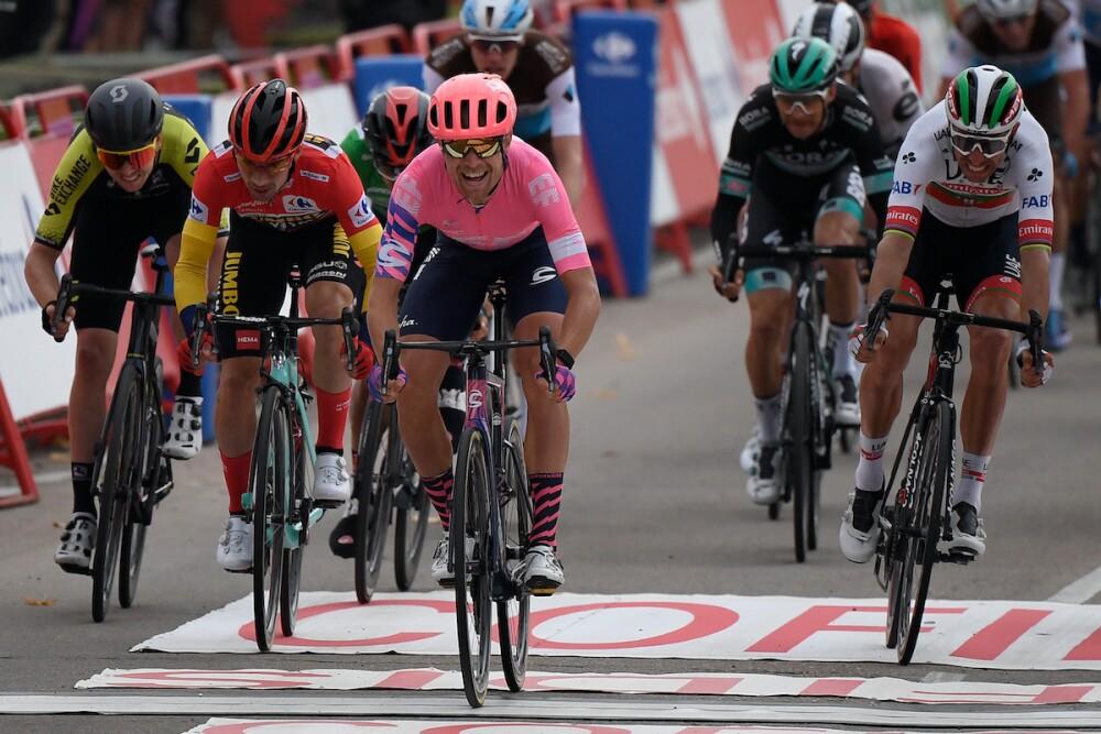Final etapa 16 Vuelta a España / AFP