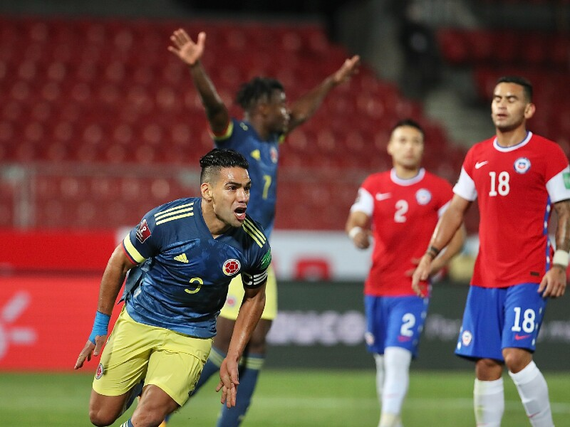 Falcao Garcia Gol Chile