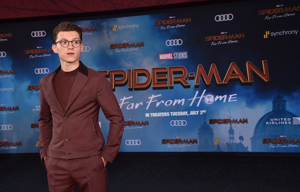 Tom Holland, protagonista de Spider Man 3