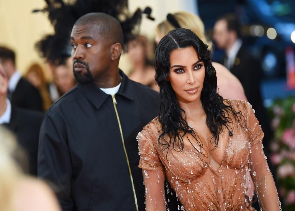 16872_Foto: Kim Kardashian y Kanye West / AFP