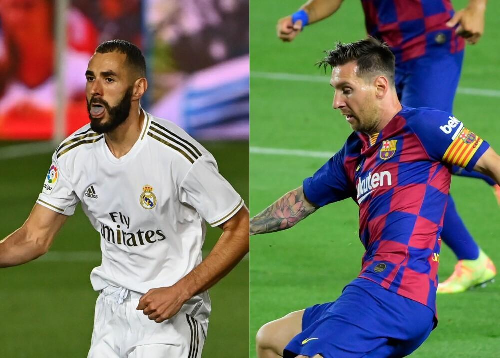 371332_Benzema_Messi // Foto: AFP