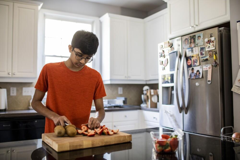 Adolescentes que comen más frutas y verduras tienen una mejor salud mental, según estudio